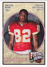 Buy Dwayne Bowe #113 - Chiefs 2007 Rookie Upper Deck Football Trading Card
