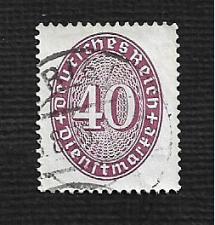 Buy German Hinged Scott #O78 Catalog Value $.90