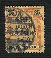 Buy German Used #OL6 Catalog Value $1.60
