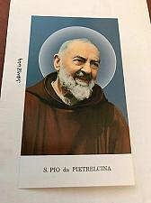 Buy Italy Padre Pio da Pietrelcina figurine card