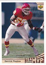 Buy Derrick Thomas #359 - Chiefs 1992 Upper Deck Football Trading Card