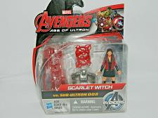"Buy New Marvel Avengers Age Of Ultron Scarlet Witch Vs. Sub-Ultron 008 2.5"" Figure Set"