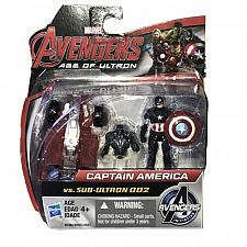 "Buy New Marvel Avengers Age Of Ultron 2.5"" Figures Captain America And SUB-ULTRON 002"