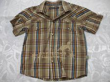 Buy Toddler's Brown Short Sleeve Shirt 4 Years Old