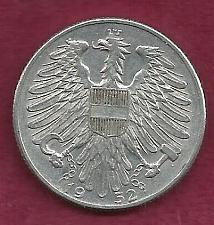 Buy AUSTRIA 5 Schilling 1952 Coin - (Aluminum)