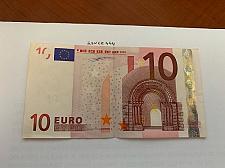 Buy Italy 10 euro crispy banknote 2002 #1