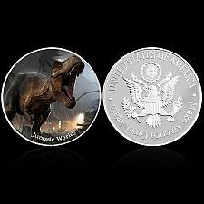 Buy United States Jurassic World uncirc. silverade coin