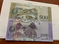 Buy Venezuela lot of 2 different uncirc. banknotes 2017 #1