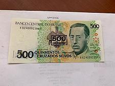 Buy Brazil 500 cruzados uncirc. banknote 1990