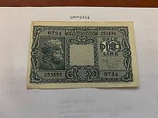 Buy Italy 10 lire Giove banknote 1935 #3