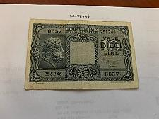 Buy Italy 10 lire Giove banknote 1935 #4