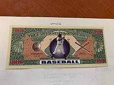 Buy United States $1 million Baseball uncirc. banknote 2002