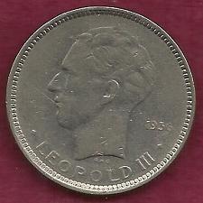 Buy BELGIUM 5 Francs 1936 Coin - Leopold III - KM#109 (Scarce Coin)