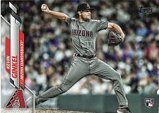 Buy Kevin Ginkil #U-102 - Diamond Backs 2020 Rookie Bowman Baseball Trading Card