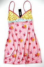 Buy IN006 DKNY NEW 413098 Pink Stargazer Floral Print Stretch Smooth Pull Over Chemise S