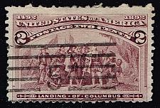Buy US #231 Landing of Columbus; Used (0.30) (1Stars)  USA0231-07