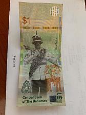Buy Bahamas 1 dollar circulated banknote 2017