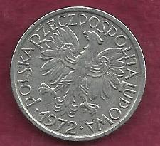 Buy Poland 2 Zlote 1972 Coin (Al)