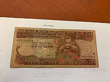 Buy Ethiopia 10 birr circulated banknote 2015