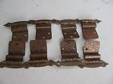 Buy 4 pair Hammered Copper Hindges.