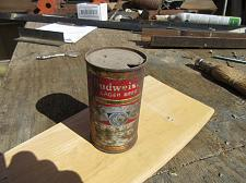 Buy old budweiser can.