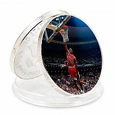 Buy United States Michael Jordan uncirc. golden souvenir coin #2