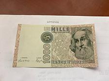 Buy Italy Marco Polo 1000 lire uncirc. banknote 1982 #32