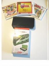 Buy Nintendo New 3DS XL Black w ZELDA & More !!