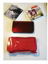 Buy Red Nintendo New 3ds xl w FIFA 15 & More!!!