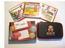 Buy Red Nintendo New 3ds XL w Mario 3d Land & More!