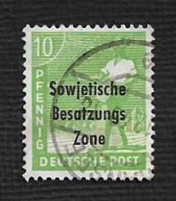 Buy Germany Used Scott #10N4 Catalog Value $.30