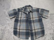Buy Toddlers Blue Multi Colored Short Sleeve Shirt 4/5 years