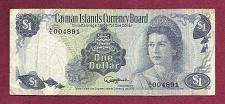 Buy CAYMAN ISLANDS (Currency Board) 1 Dollar 1974 Banknote Serial# 004891 Nice Note!