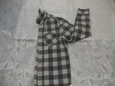 Buy Gray and White Checkered Long Sleeve shirt 9-10 yrs old