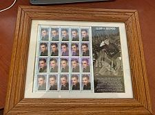 Buy USA United States Legends of Hollywood James Cagney 1999 mnh stamps w frame