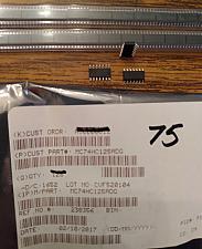 Buy Lot of 75: ON Semiconductor MC74HC125ADG