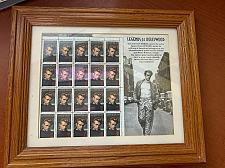 Buy USA United States Legends of Hollywood James Dean 1996 mnh stamps w frame