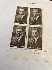 Buy USA United States Ernest Just block mnh 1996 stamps