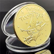 Buy United States Twinkle tooth fairy golden souvenir coin