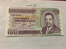 Buy Burundi 100 francs uncirc. banknote 2011