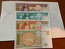 Buy Mongolia uncirc. set 4 banknotes