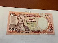 Buy Colombia 100 pesos uncirc. banknote 1991