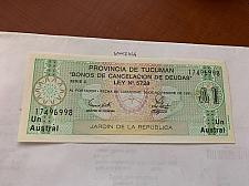 Buy Argentina 1 austral uncirc. banknote 1991 #2
