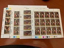 Buy Gibraltar Christmas Paintings m/s 1977 mnh stamps