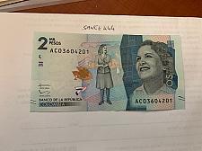 Buy Colombia 2 mil pesos uncirc. banknote 2015