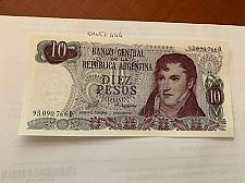 Buy Argentina 10 pesos uncirc. banknote 1976