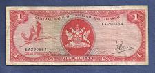 Buy TRINIDAD & TOBAGO 1 Dollar 1964 (1977) Banknote EA290564