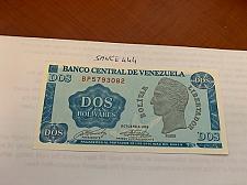 Buy Venezuela 2 bolivares uncirc. banknote 1989