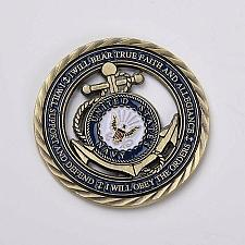 Buy United States Navy comm.Support and Defend Art coin
