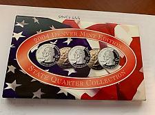 Buy United States State Quarter Collection & COA Denver Mint Edition BU 2004